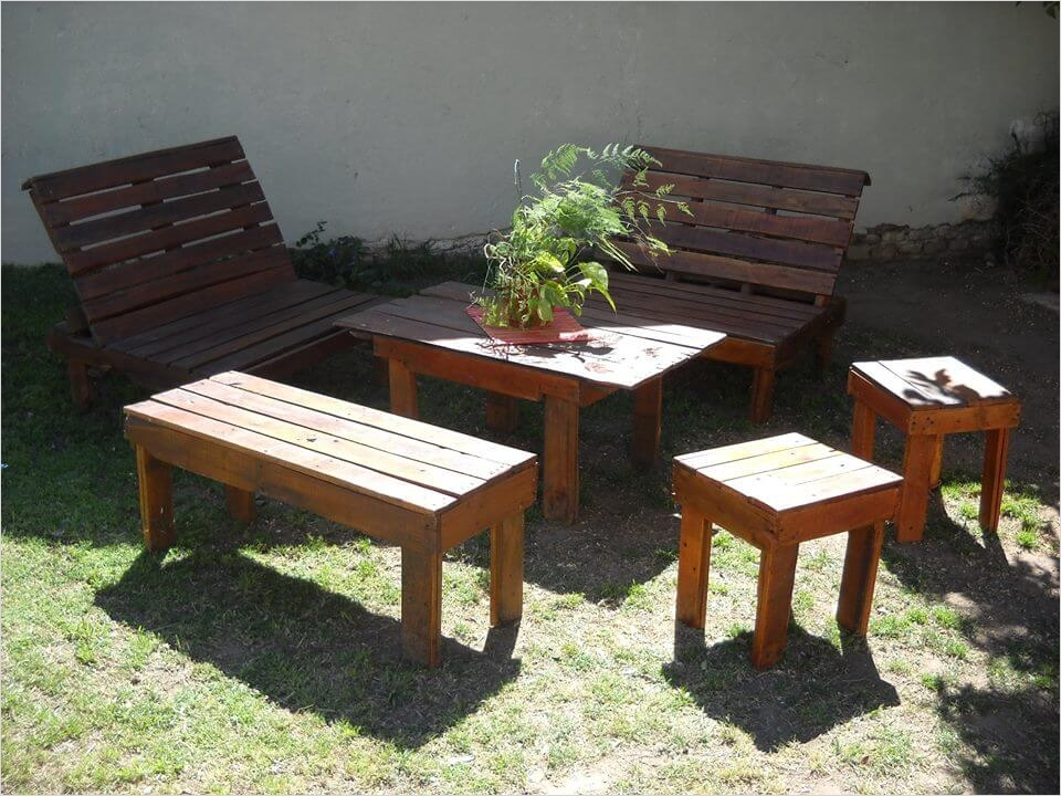 40 Diy Ideas Outdoor Furniture Made From Pallets 32 Outdoor Furniture Made From Pallets [peenmedia] 3