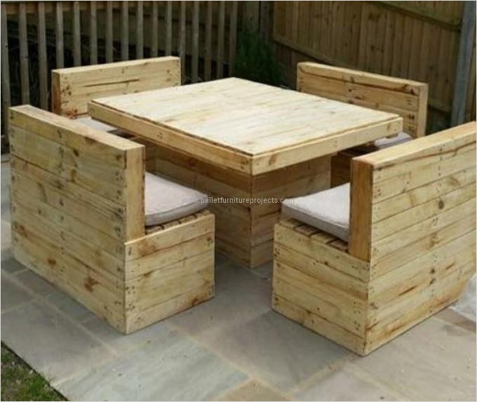 40 Diy Ideas Outdoor Furniture Made From Pallets 68 Pallets Made Outdoor Furniture 3