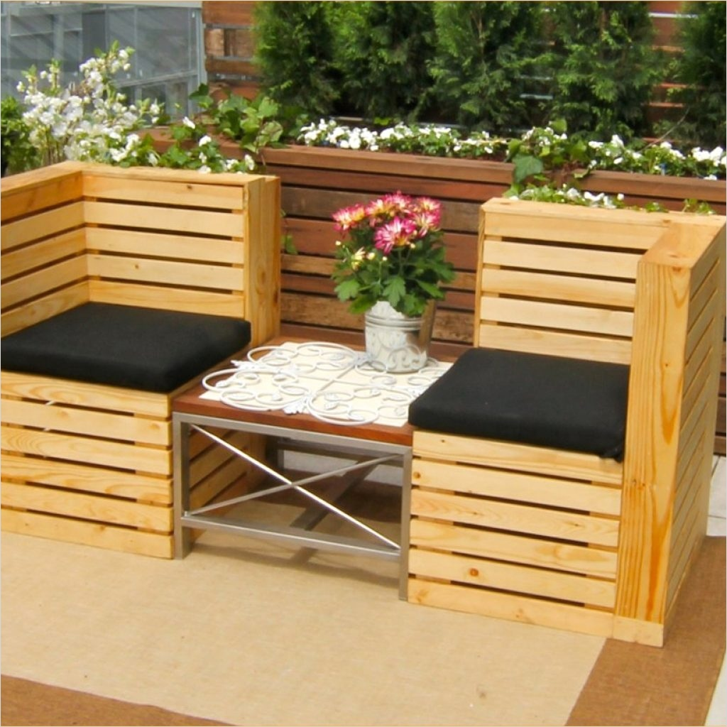40 Diy Ideas Outdoor Furniture Made From Pallets 33 How to Build Furniture Out Wood 4