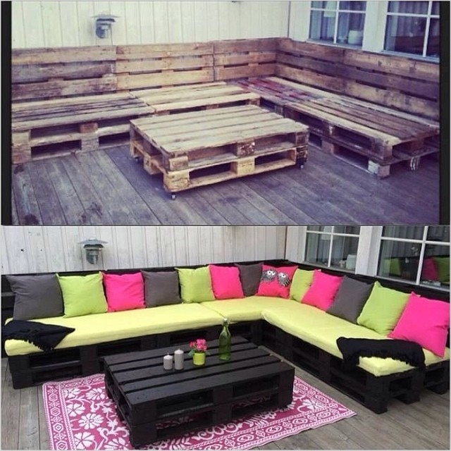 40 Diy Ideas Outdoor Furniture Made From Pallets 35 Diy Outdoor Patio Furniture Made From Pallets 3
