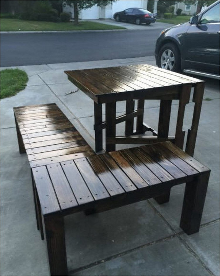 40 Diy Ideas Outdoor Furniture Made From Pallets 63 Outdoor Furniture Ideas Made with Wood Pallets 7
