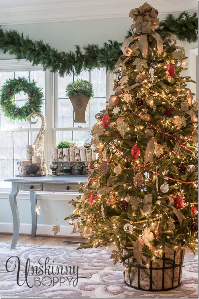 41 Amazing Country Christmas Decorating Ideas 81 40 Fabulous Rustic Country Christmas Decorating Ideas 2