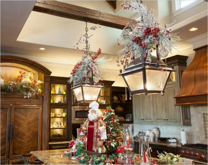 42 Awesome Kitchen Christmas Decorating Ideas 48 Christmas Decor Ideas for Kitchen – Home and Decoration 4
