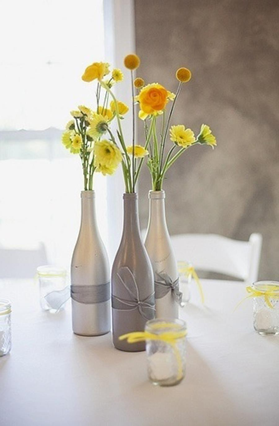 46 DIY Simple but Beautiful Wine Bottle Decor Ideas 36
