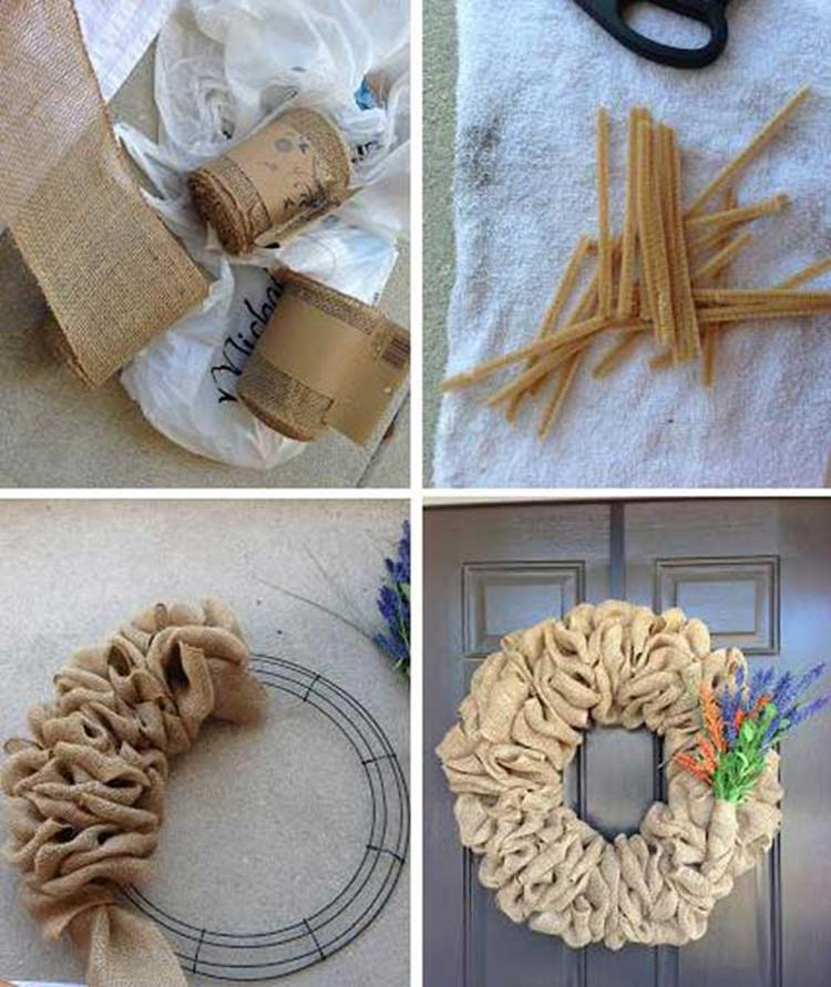 Best 40 DIY Christmas Wreath Ideas 22