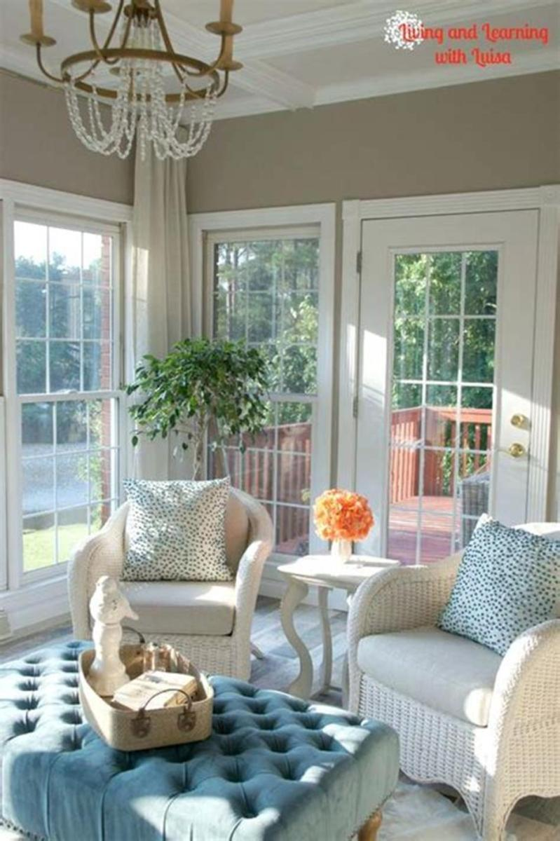 50 Most Popular Affordable Sunroom Design Ideas on a Budget 16
