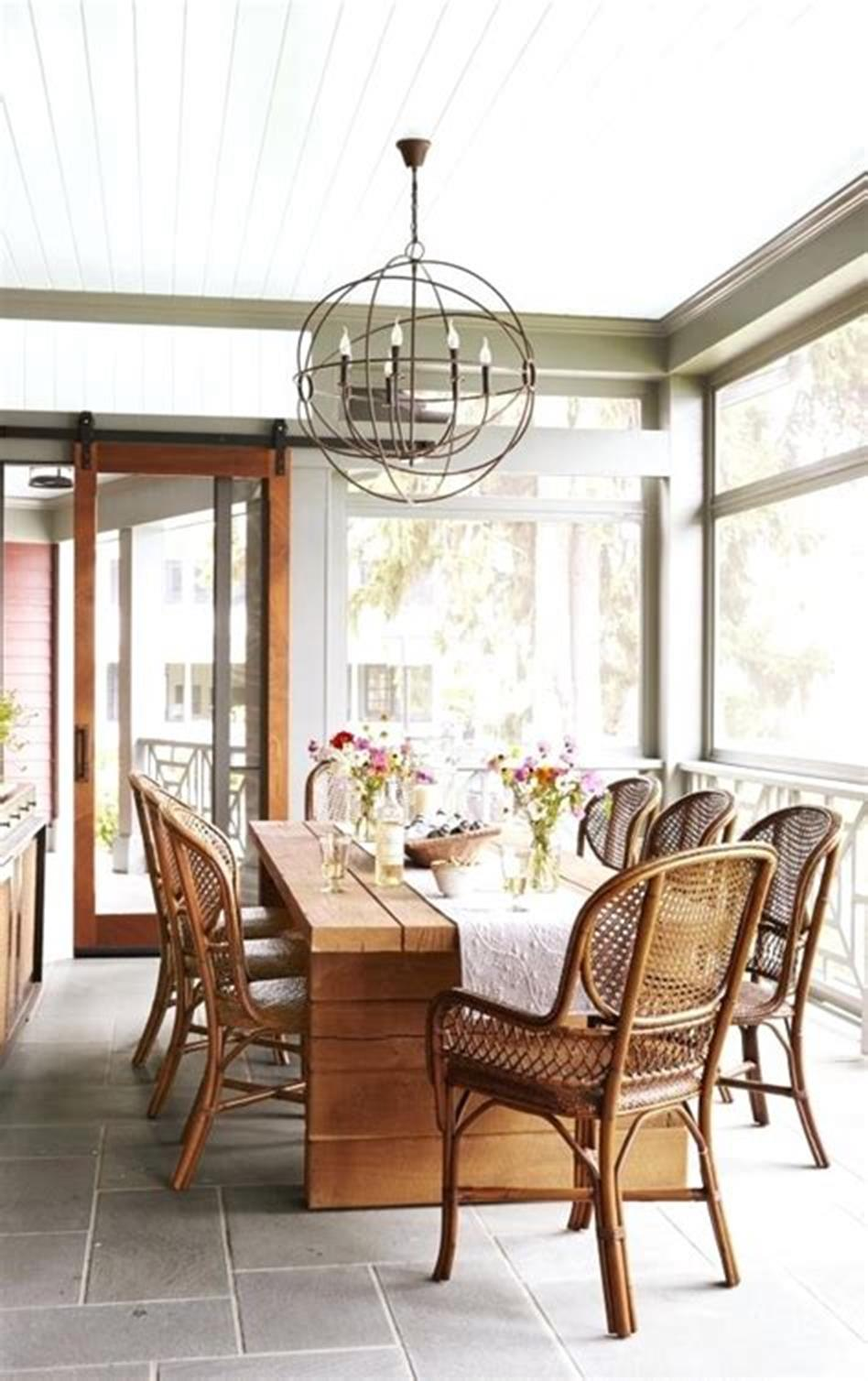 50 Most Popular Affordable Sunroom Design Ideas on a Budget 22
