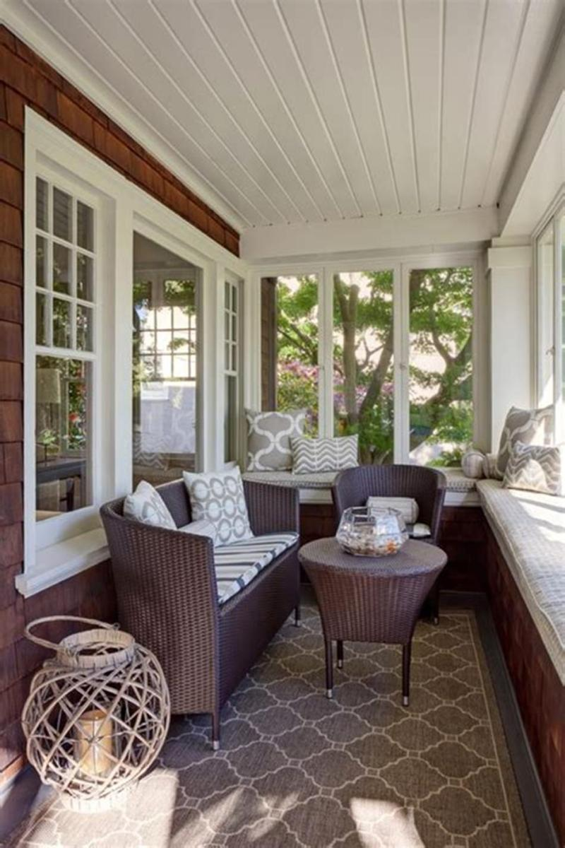 50 Most Popular Affordable Sunroom Design Ideas on a Budget 23
