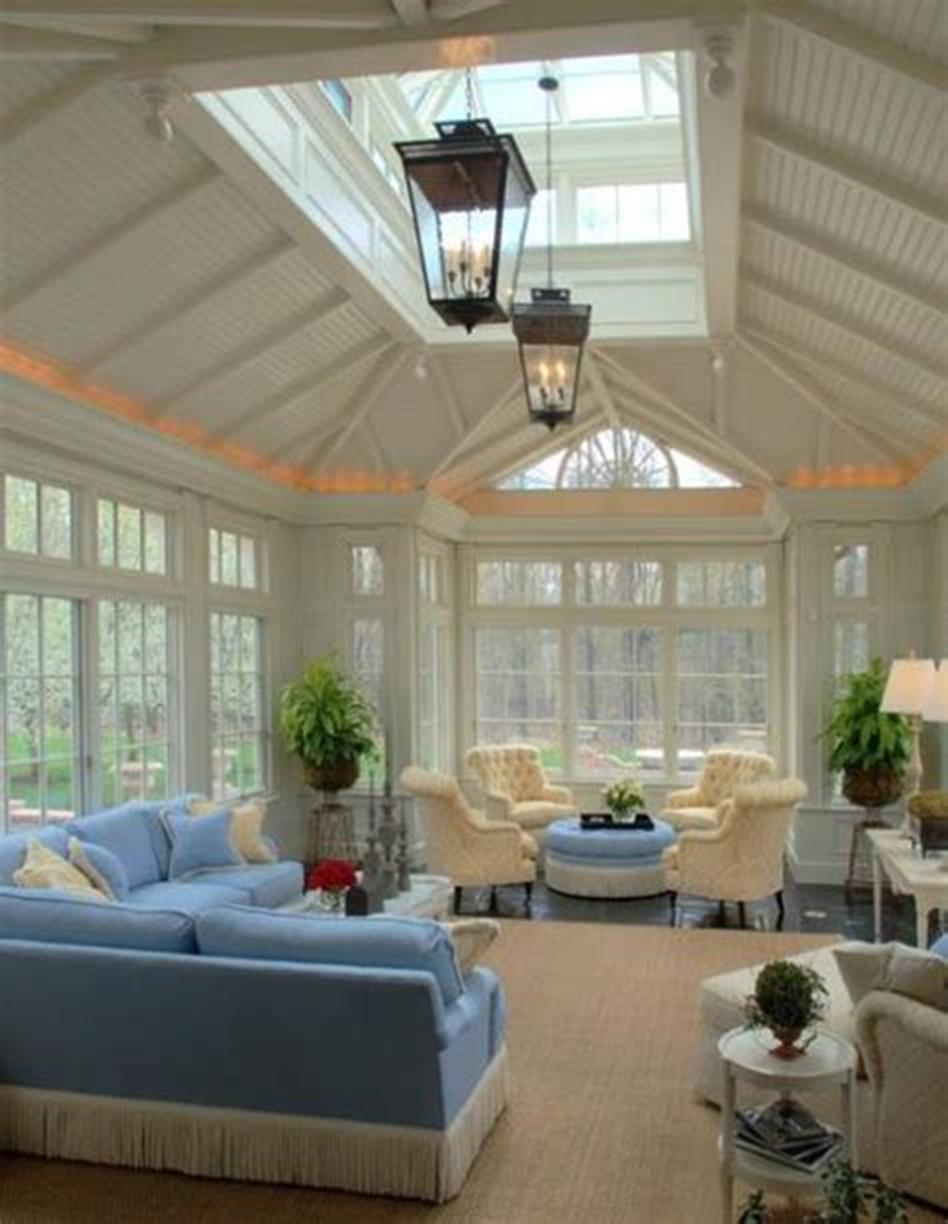 50 Most Popular Affordable Sunroom Design Ideas on a Budget 30