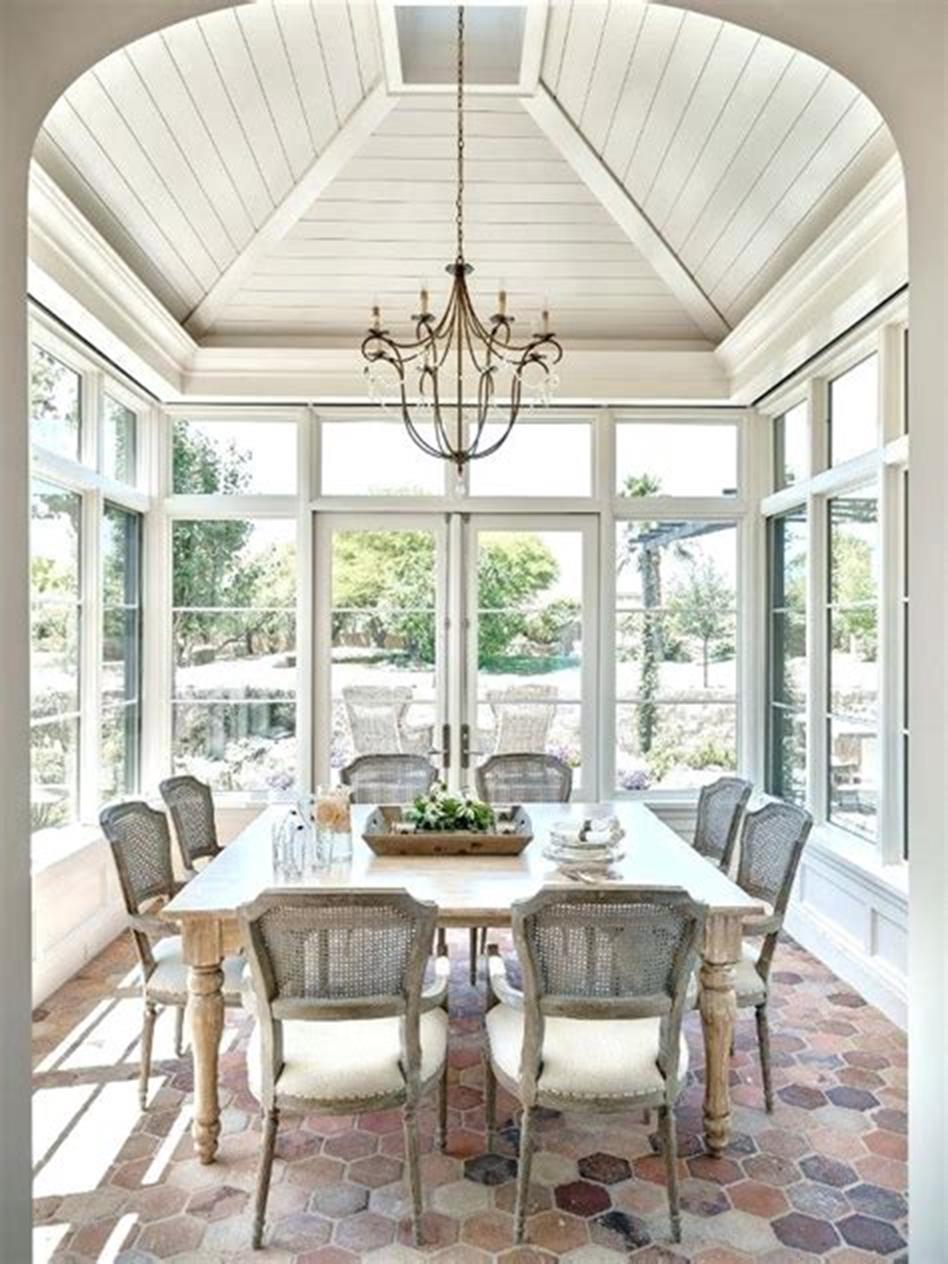 50 Most Popular Affordable Sunroom Design Ideas on a Budget 36