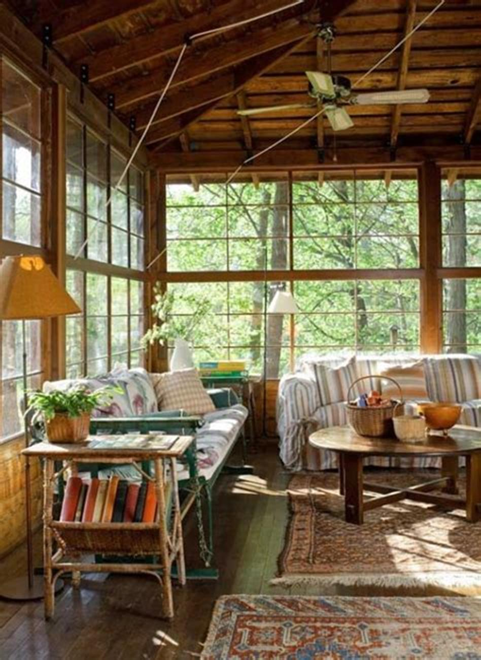 50 Most Popular Affordable Sunroom Design Ideas on a Budget 47