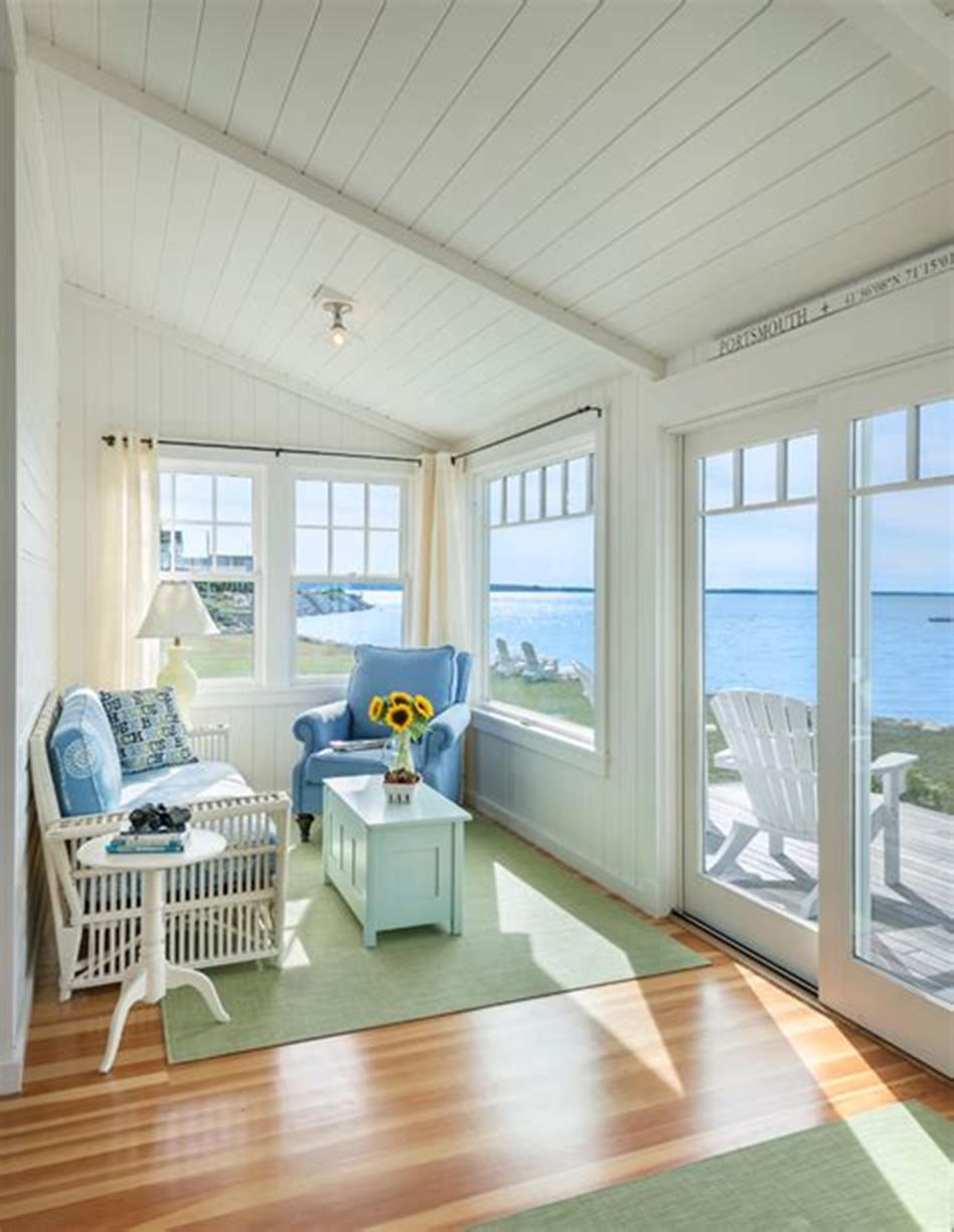 50 Most Popular Affordable Sunroom Design Ideas on a Budget 48