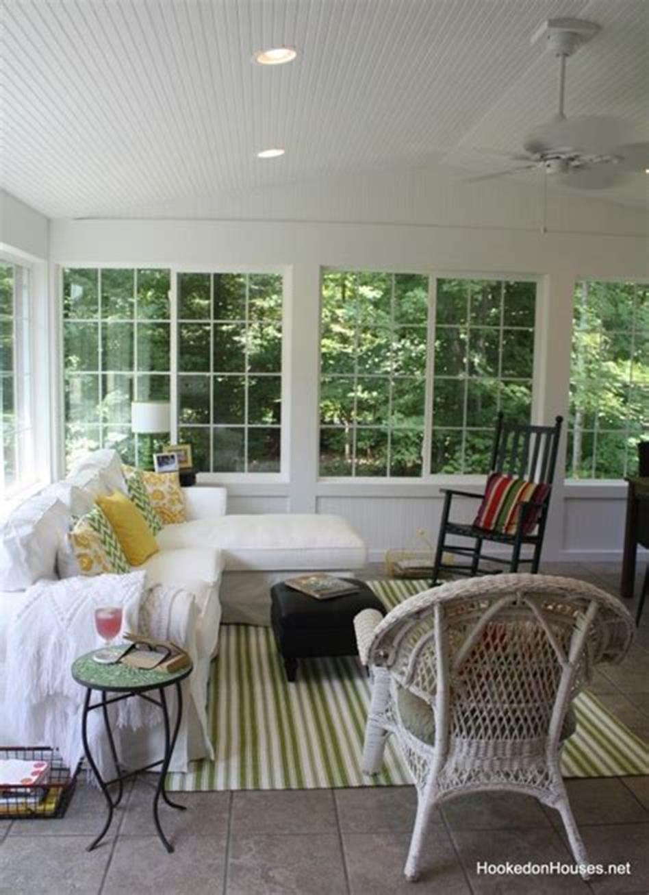 50 Most Popular Affordable Sunroom Design Ideas on a Budget 54