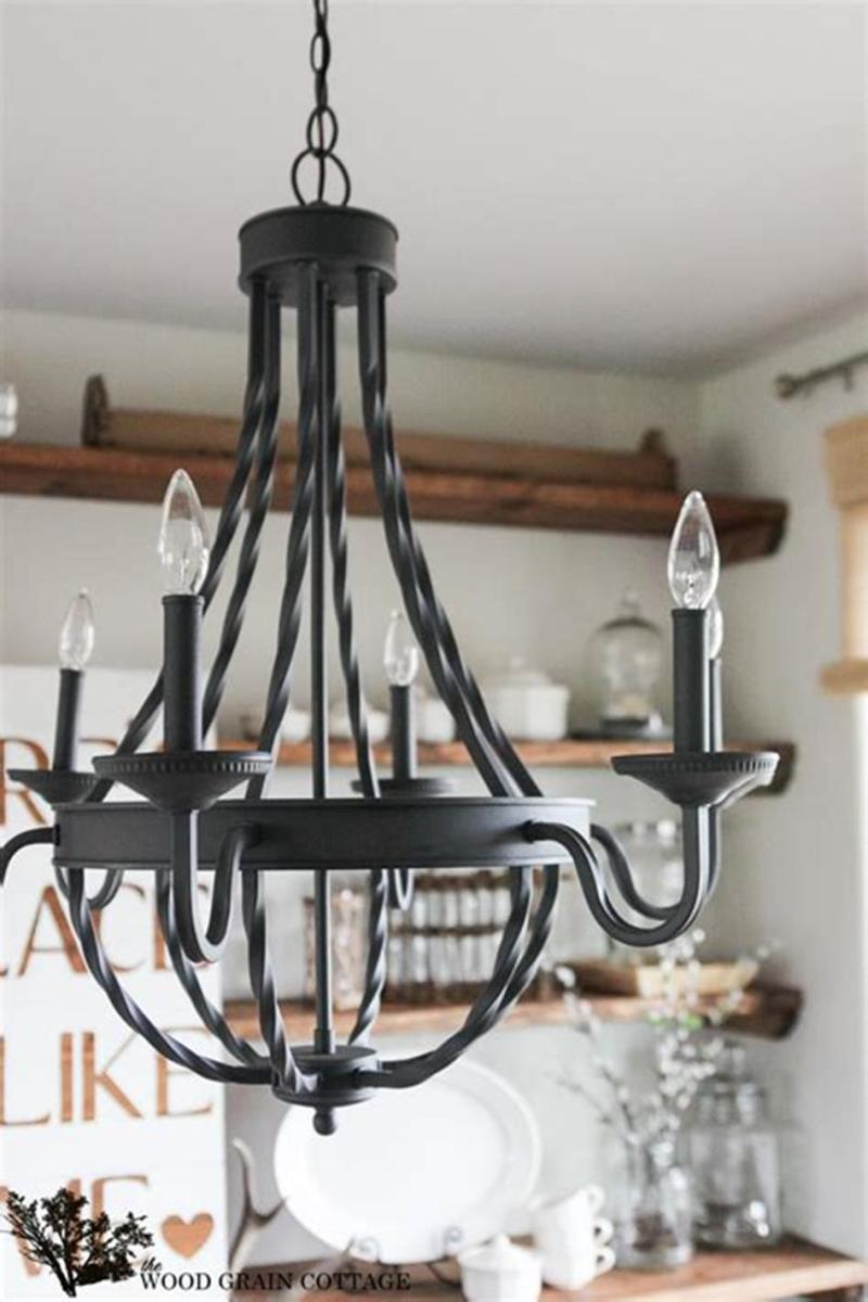 50 Inspiring Farmhouse Style Kitchen Lighting Fixtures Ideas 5