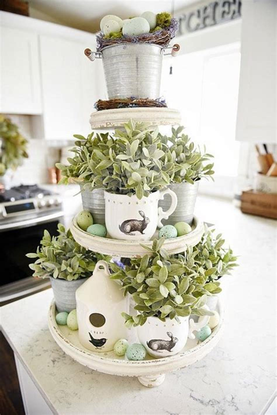 37 Beautiful Farmhouse Spring Decorating Ideas On a Budget for 2019 21