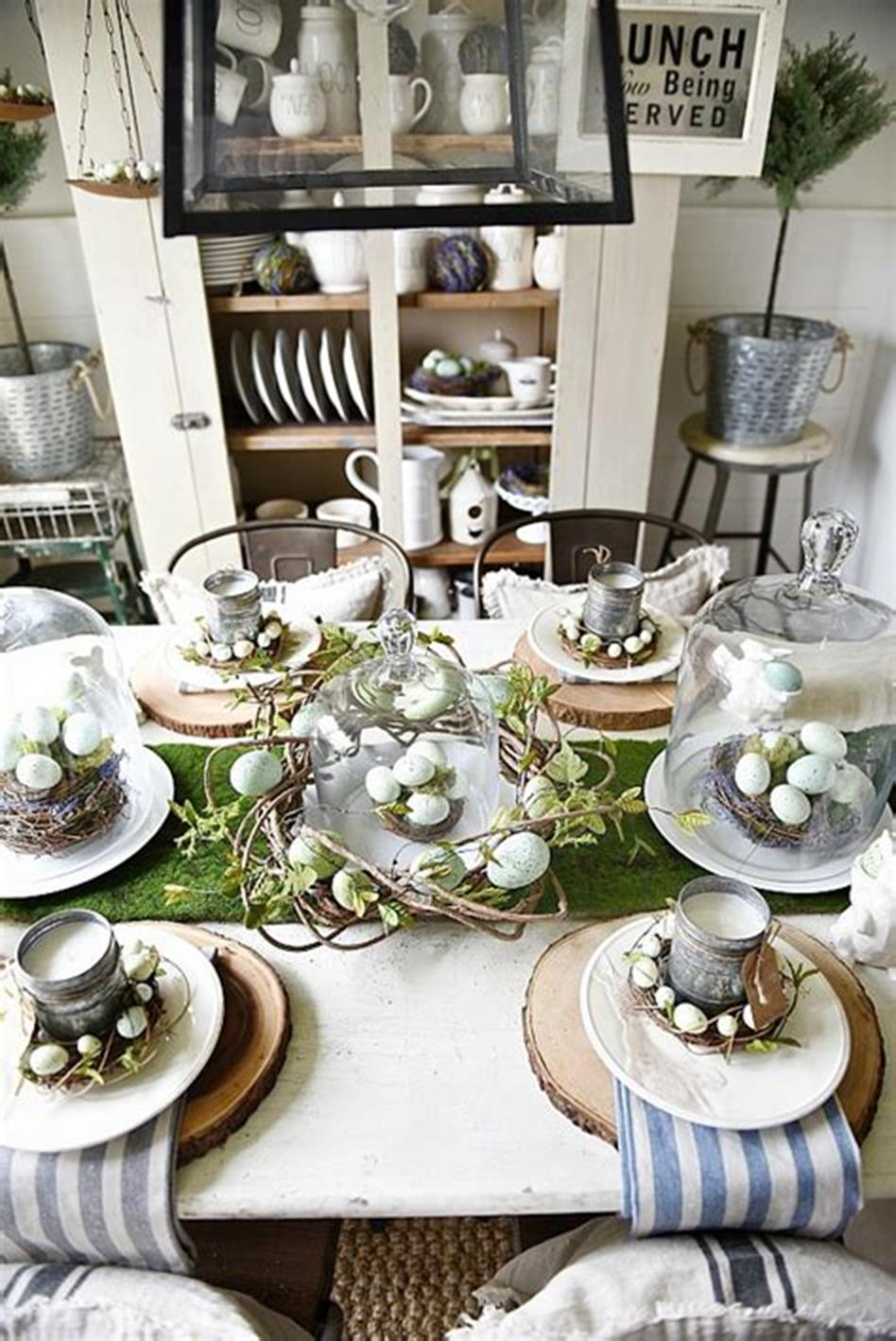 37 Beautiful Farmhouse Spring Decorating Ideas On a Budget for 2019 4