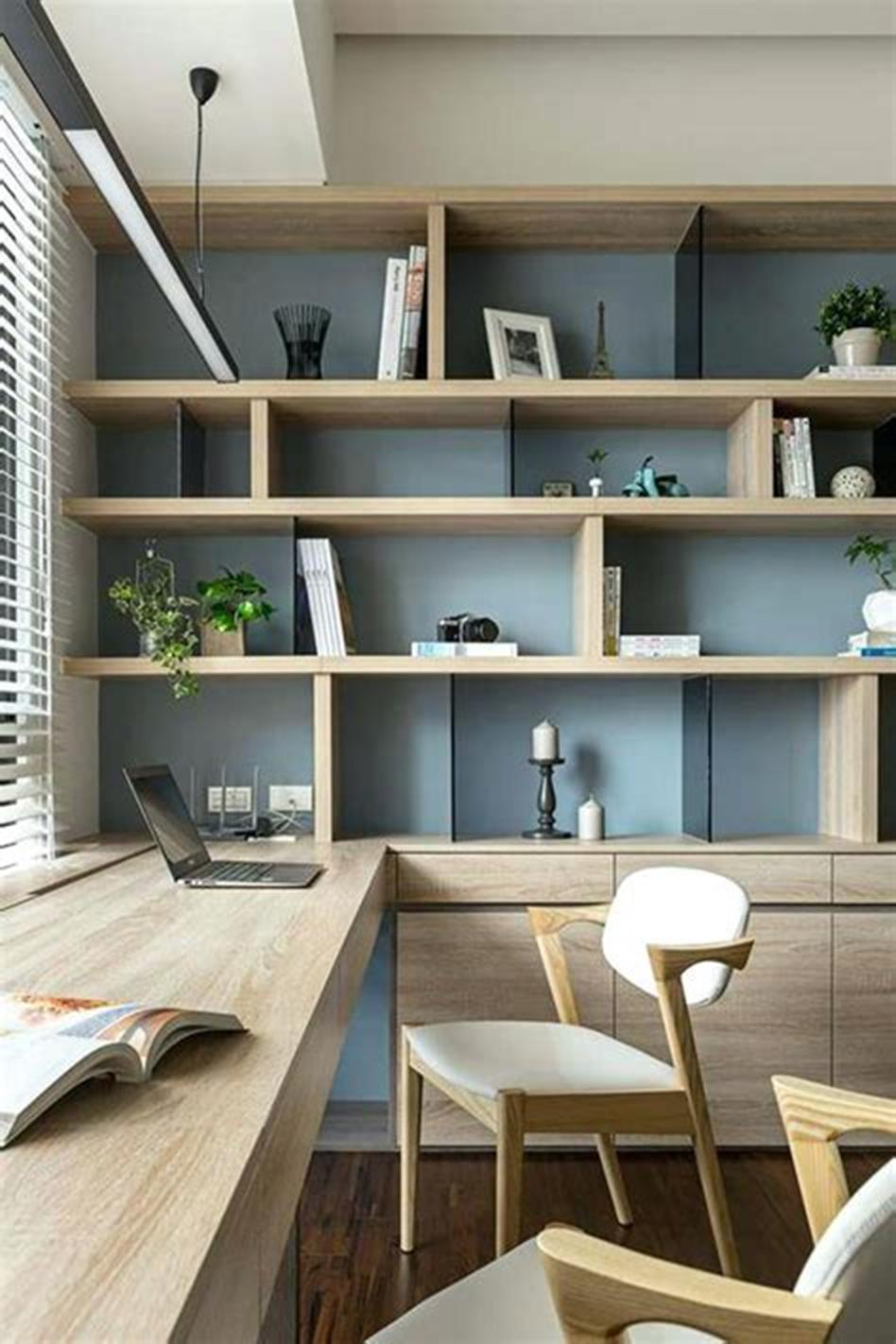 50 Best Small Space Office Decorating Ideas On a Budget 2019 10