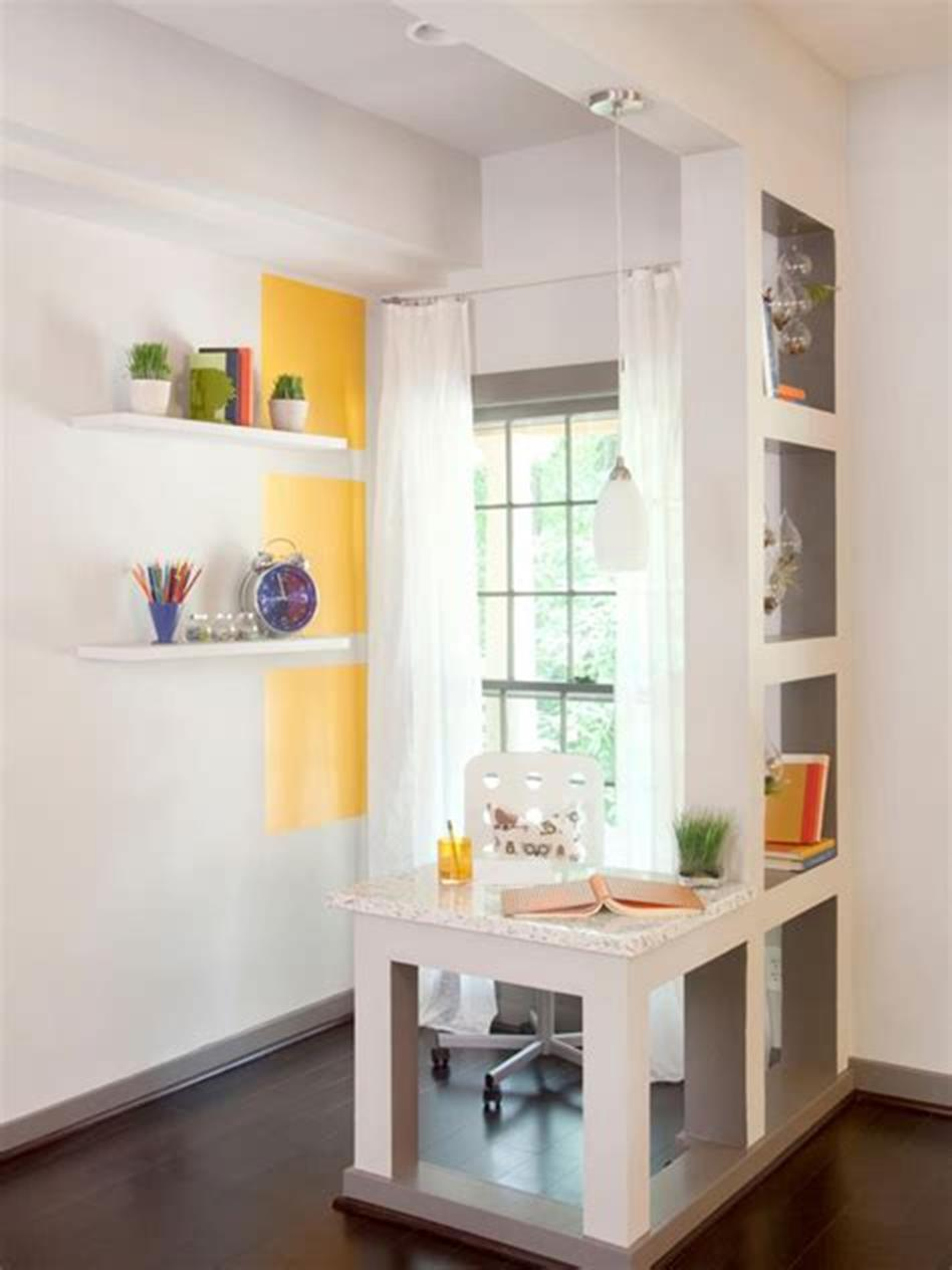 50 Best Small Space Office Decorating Ideas On a Budget 2019 16