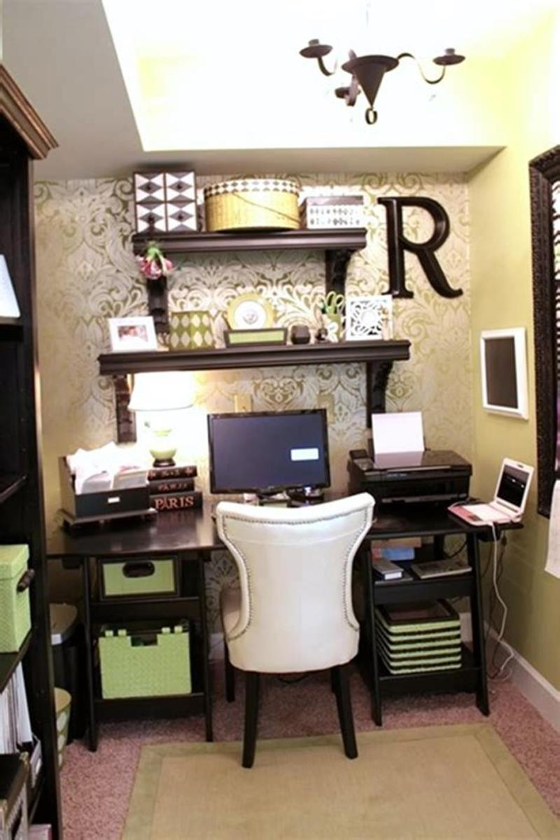 50 Best Small Space Office Decorating Ideas On a Budget 2019 31