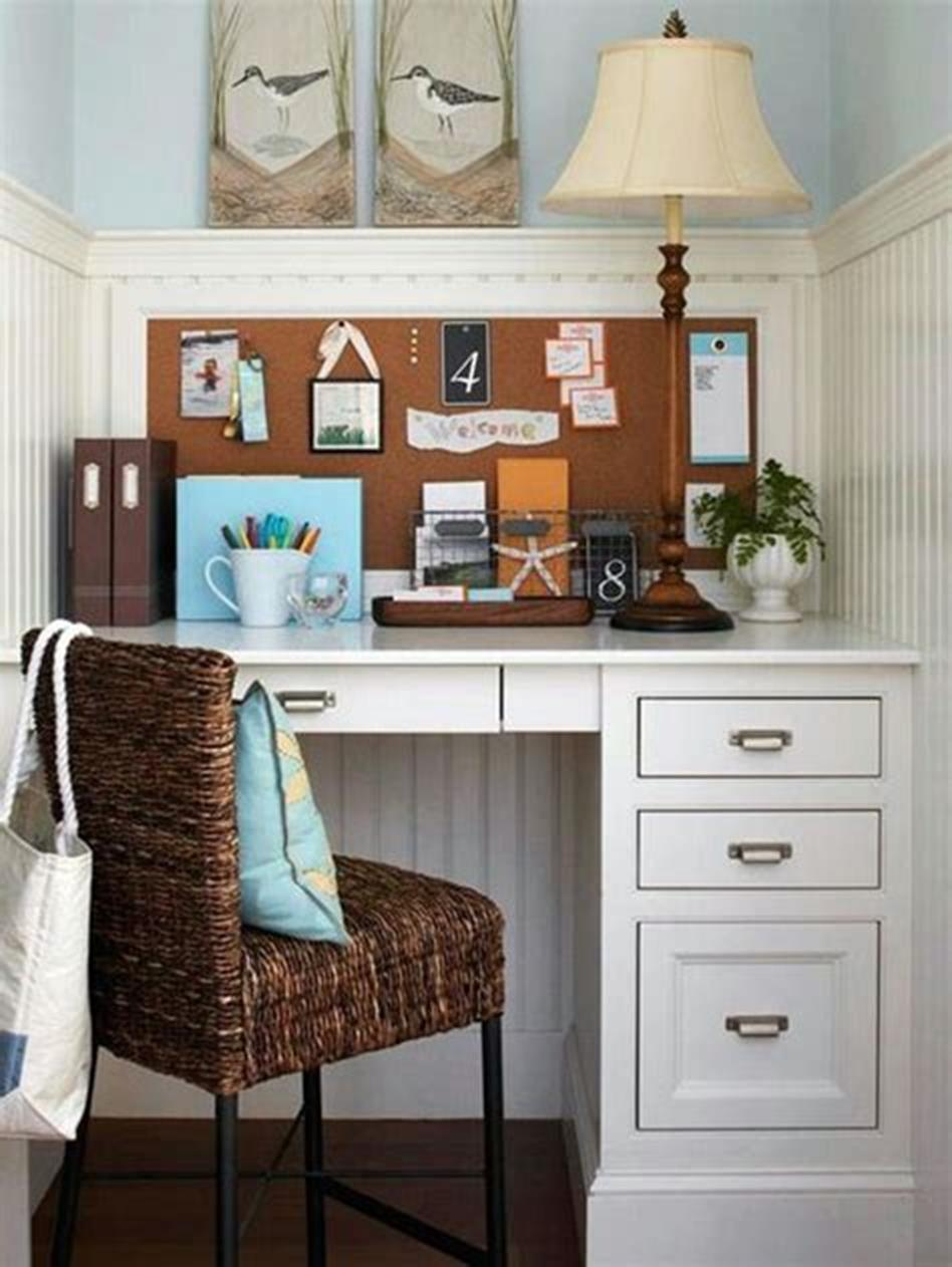 50 Best Small Space Office Decorating Ideas On a Budget 2019 38