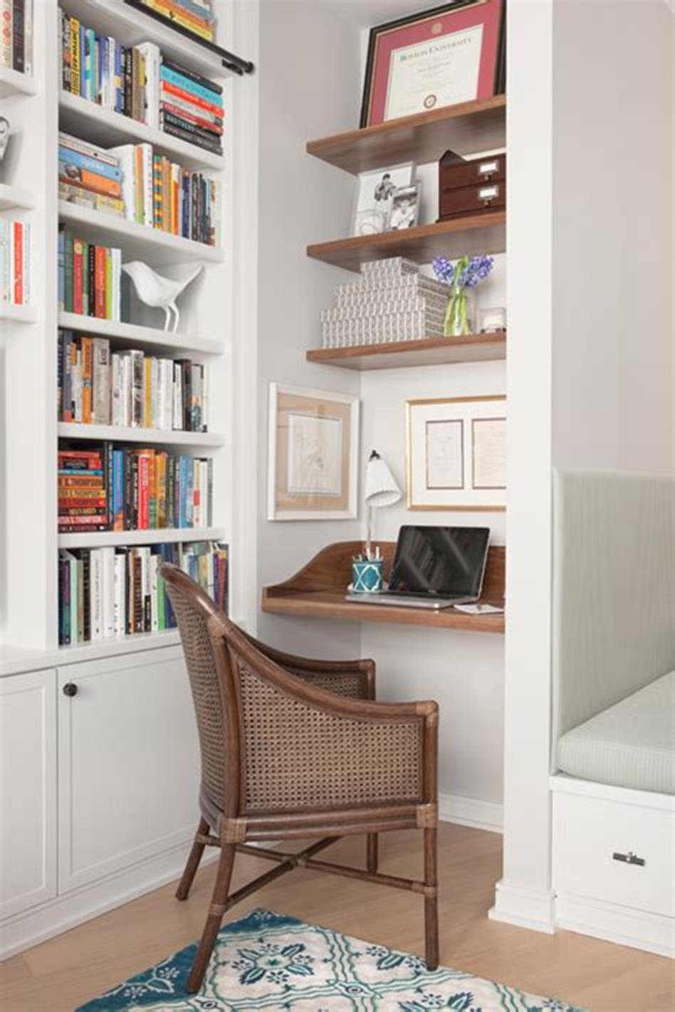 50 Best Small Space Office Decorating Ideas On a Budget 2019 5