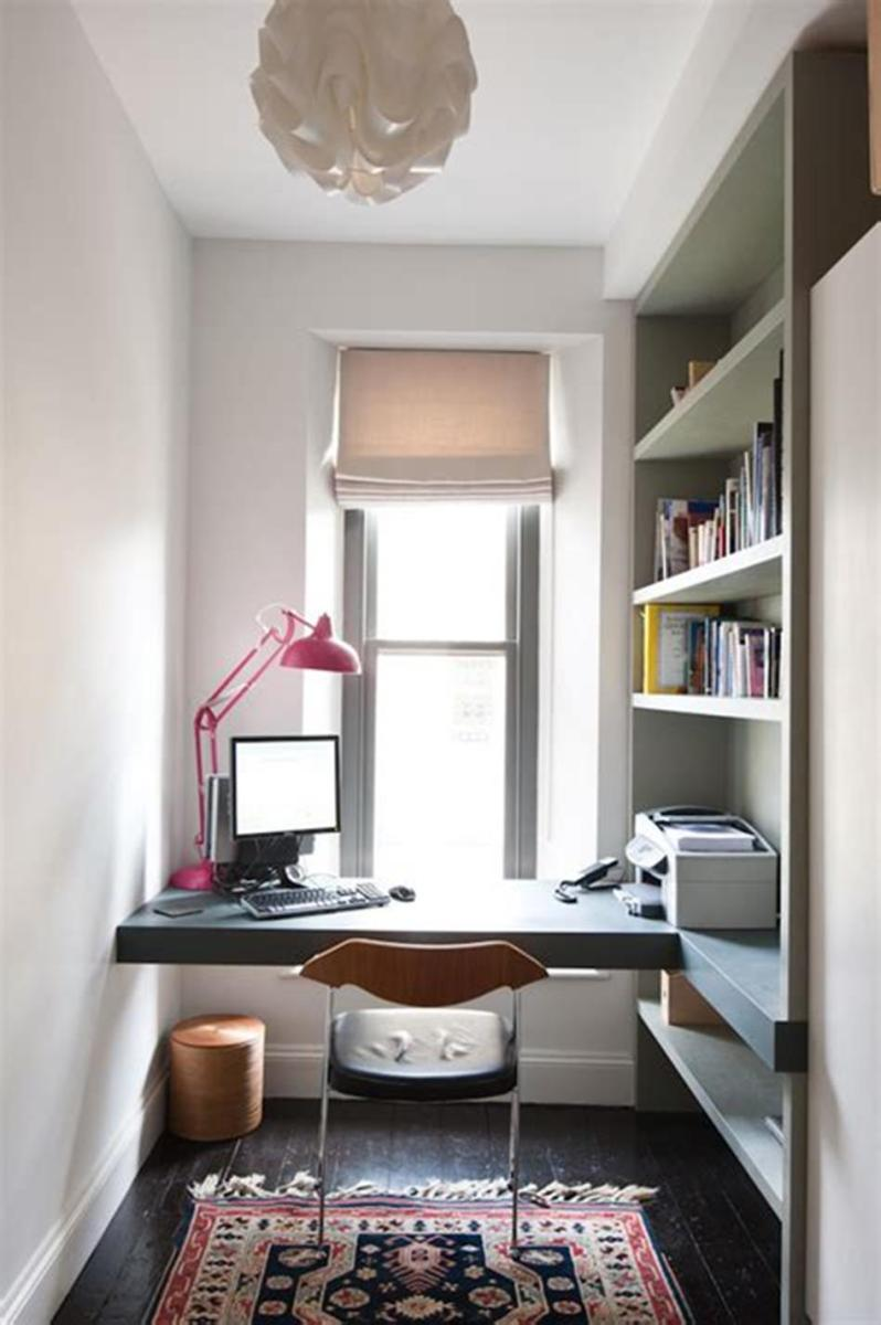 50 Best Small Space Office Decorating Ideas On a Budget 2019 50