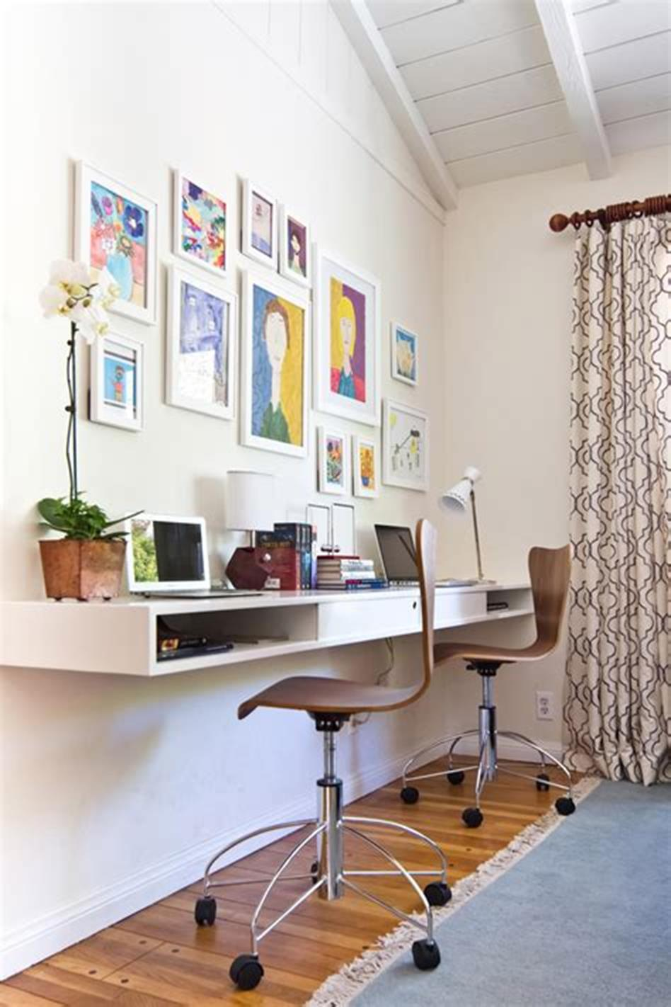 50 Best Small Space Office Decorating Ideas On a Budget 2019 6