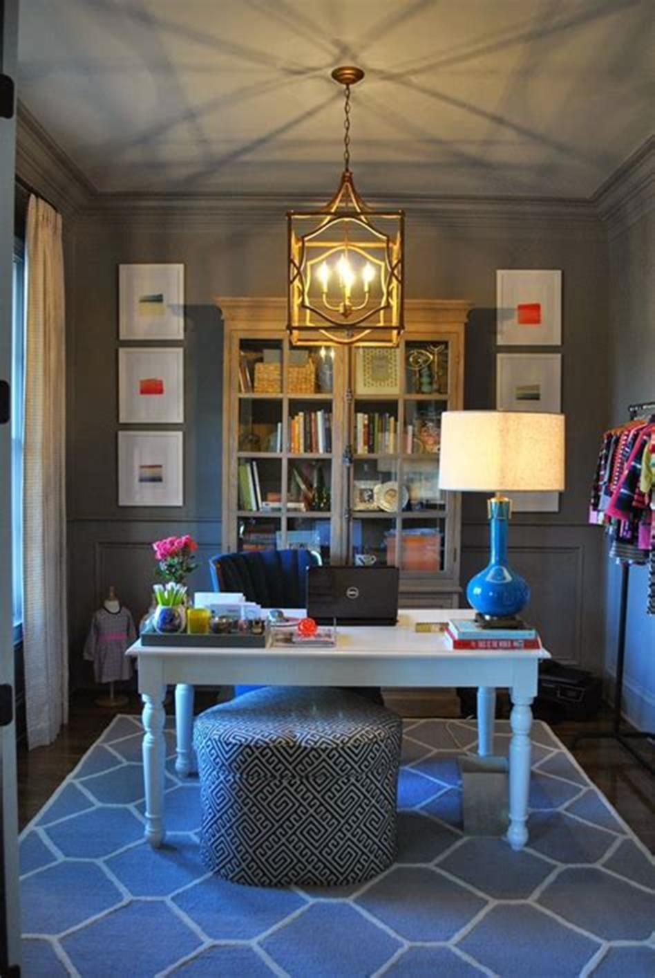 50 Best Small Space Office Decorating Ideas On a Budget 2019 61