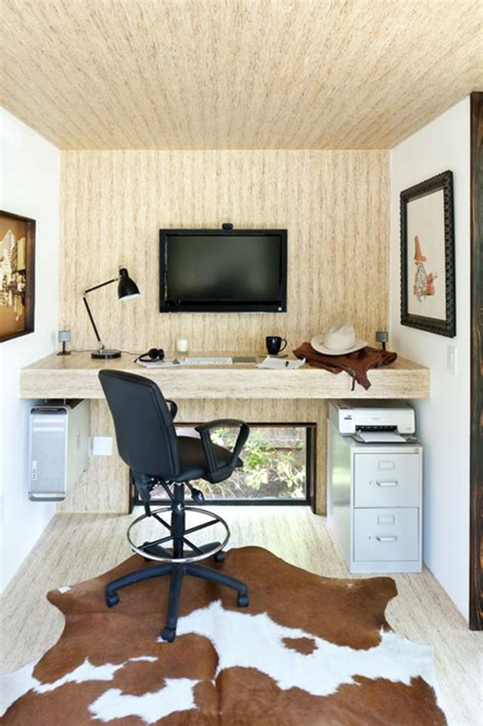 50 Best Small Space Office Decorating Ideas On a Budget 2019 62