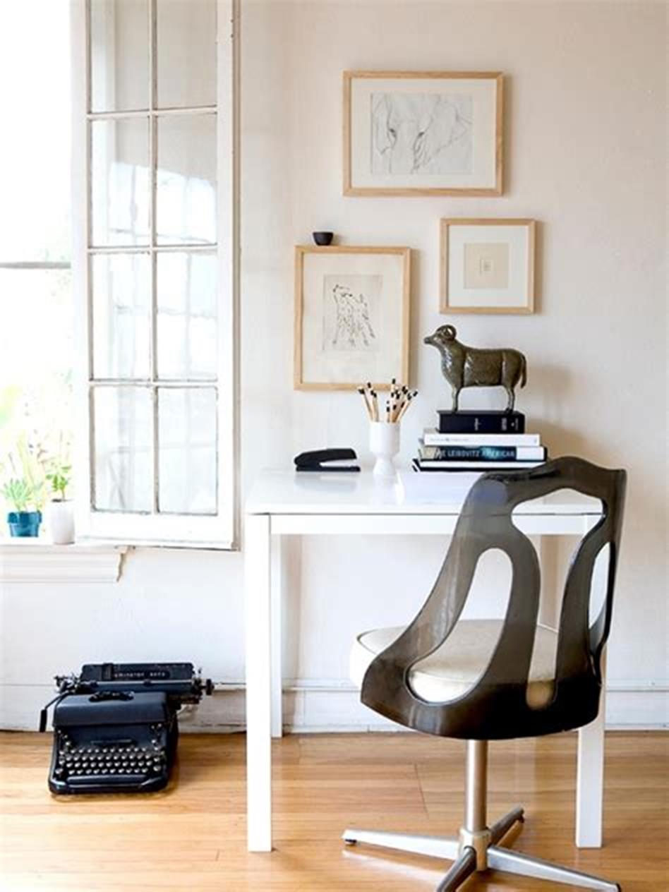 50 Best Small Space Office Decorating Ideas On a Budget 2019 64