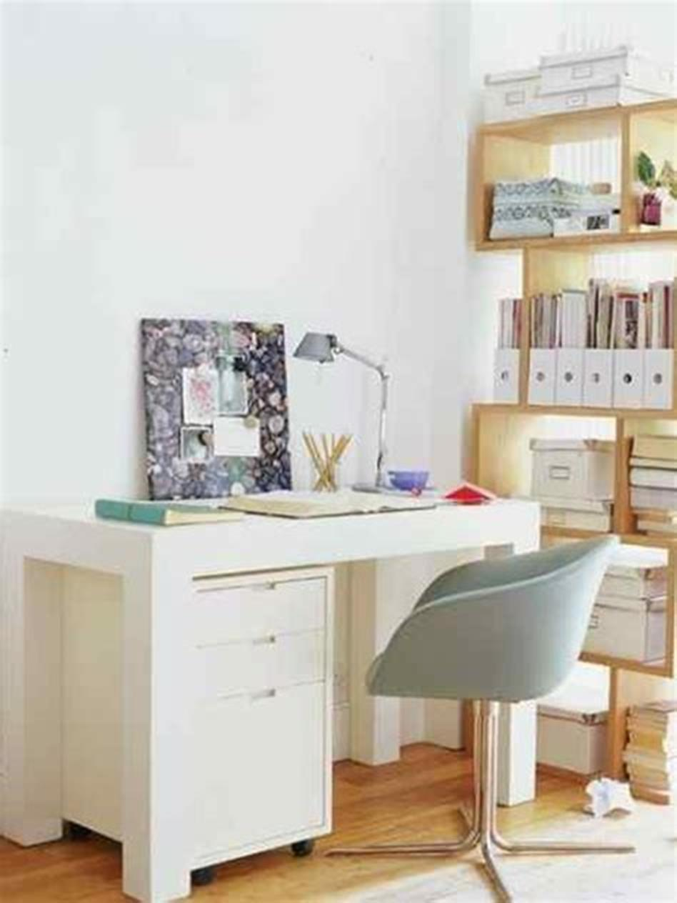 50 Best Small Space Office Decorating Ideas On a Budget 2019 68