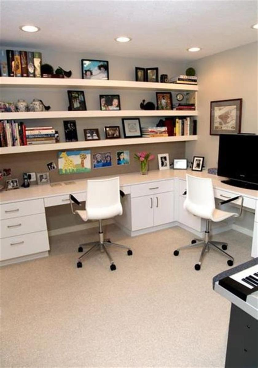 50 Best Small Space Office Decorating Ideas On a Budget 2019 69