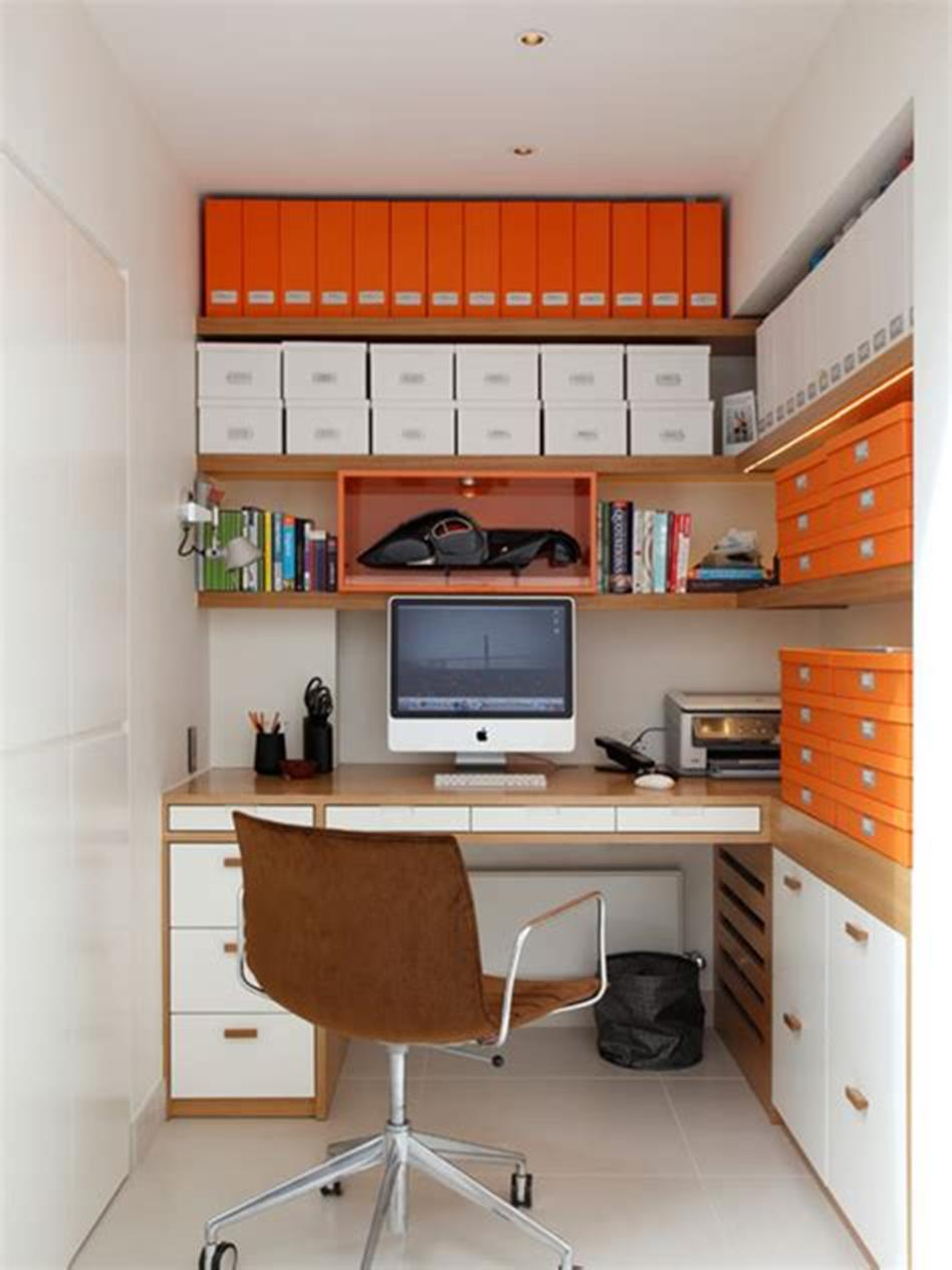 50 Best Small Space Office Decorating Ideas On a Budget 2019 74