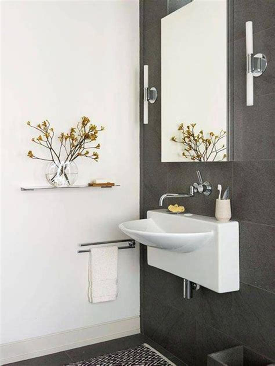 35 Best Wall Mounted Vanities For Small Bathrooms 2019 20