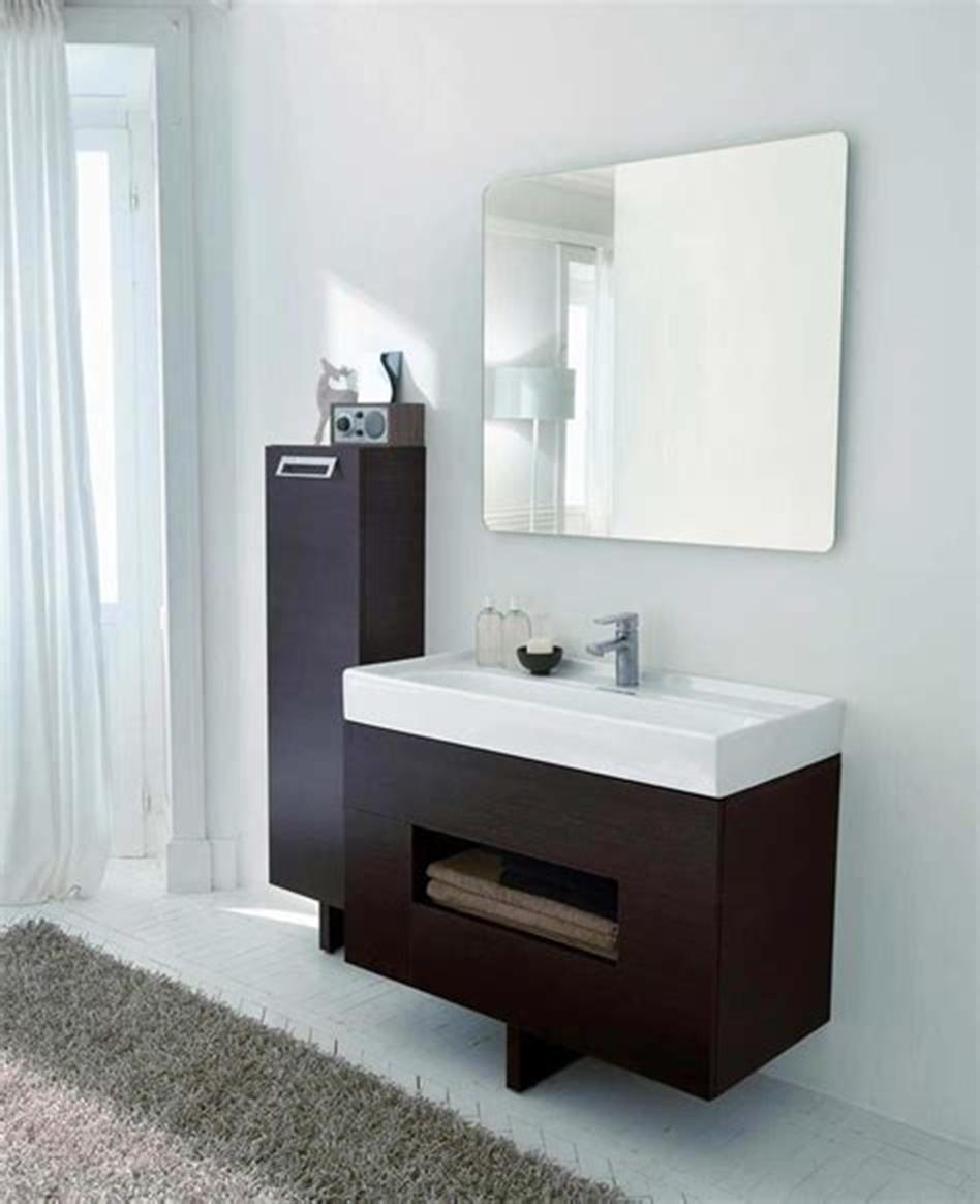 35 Best Wall Mounted Vanities For Small Bathrooms 2019 26