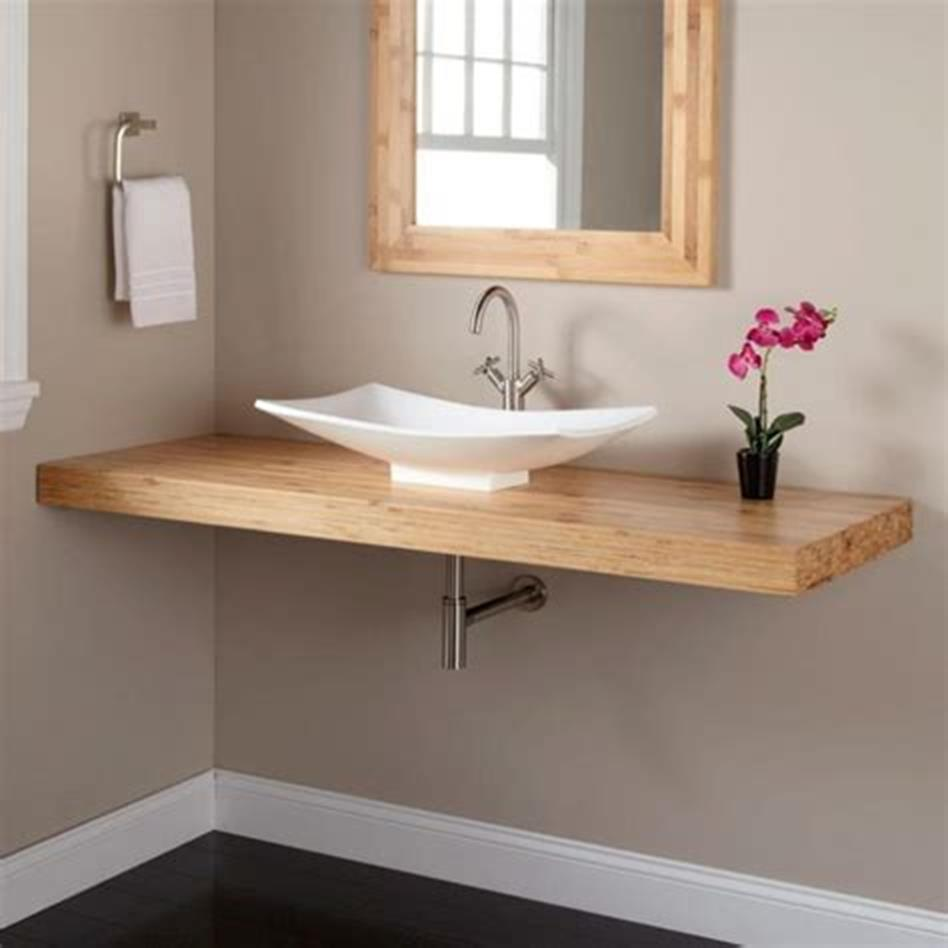 35 Best Wall Mounted Vanities For Small Bathrooms 2019 36