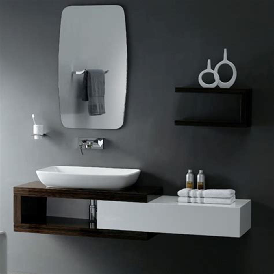 35 Best Wall Mounted Vanities For Small Bathrooms 2019 41