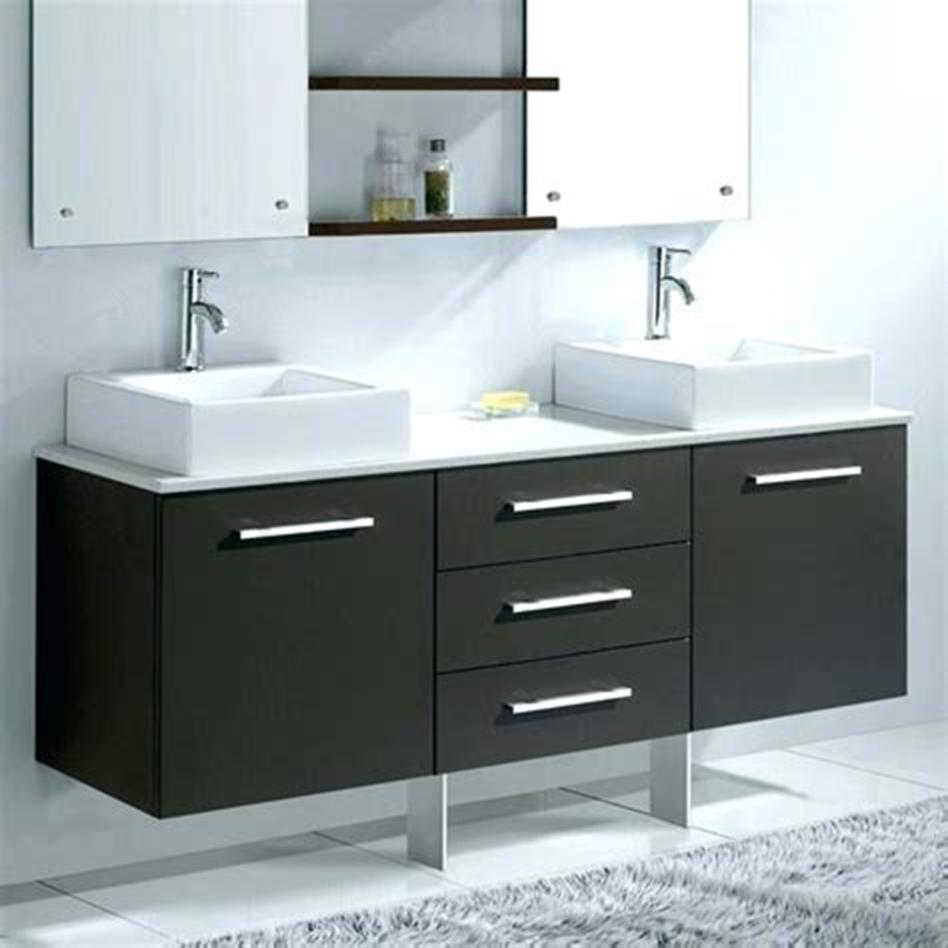 35 Best Wall Mounted Vanities For Small Bathrooms 2019 46