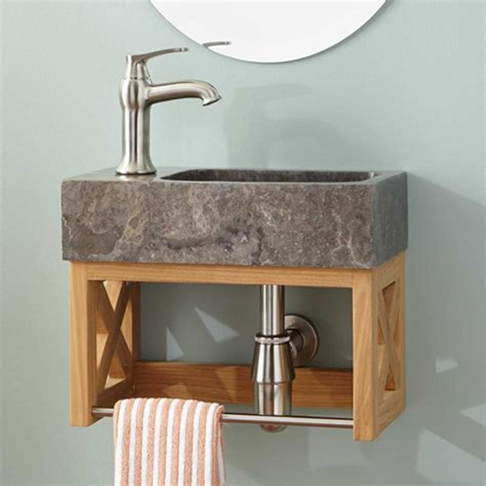 35 Best Wall Mounted Vanities For Small Bathrooms 2019 47