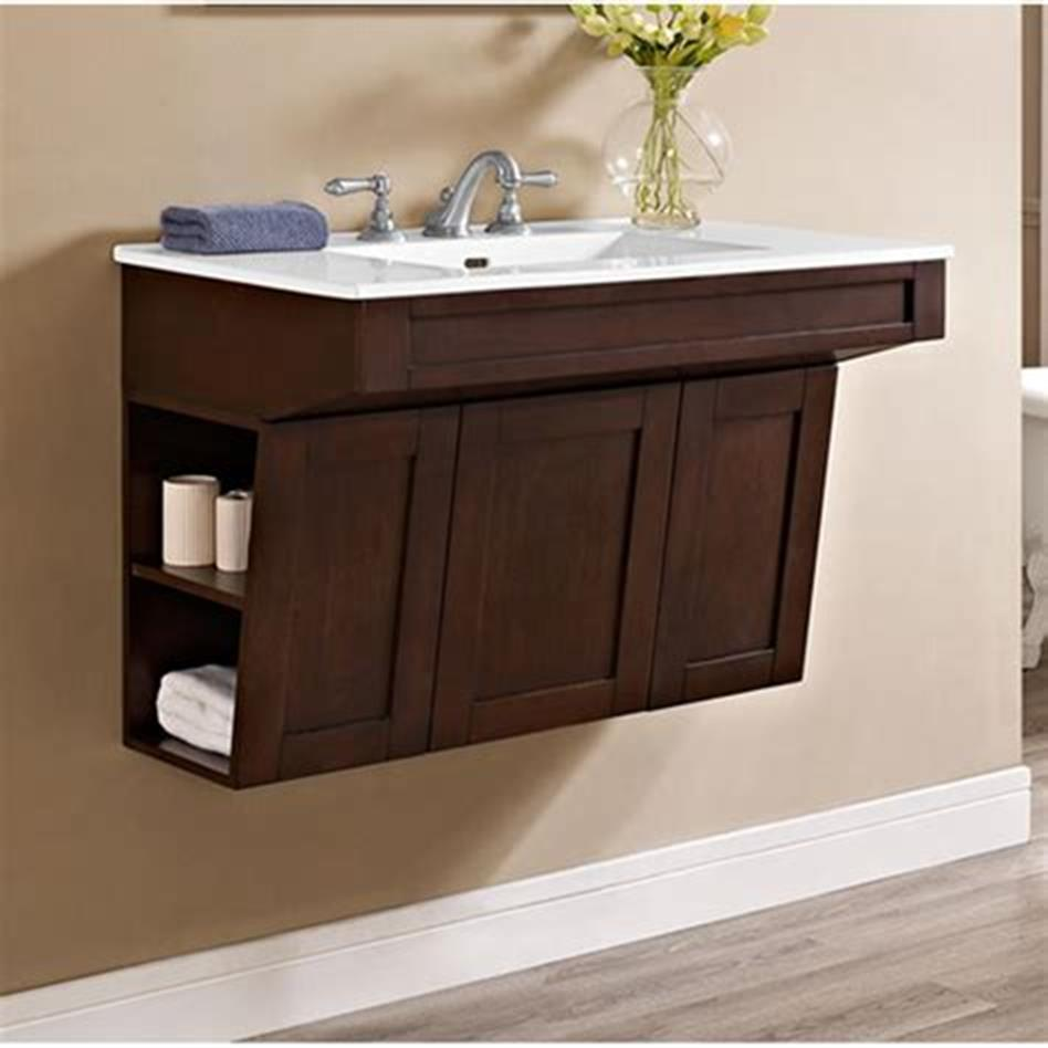 35 Best Wall Mounted Vanities For Small Bathrooms 2019 49
