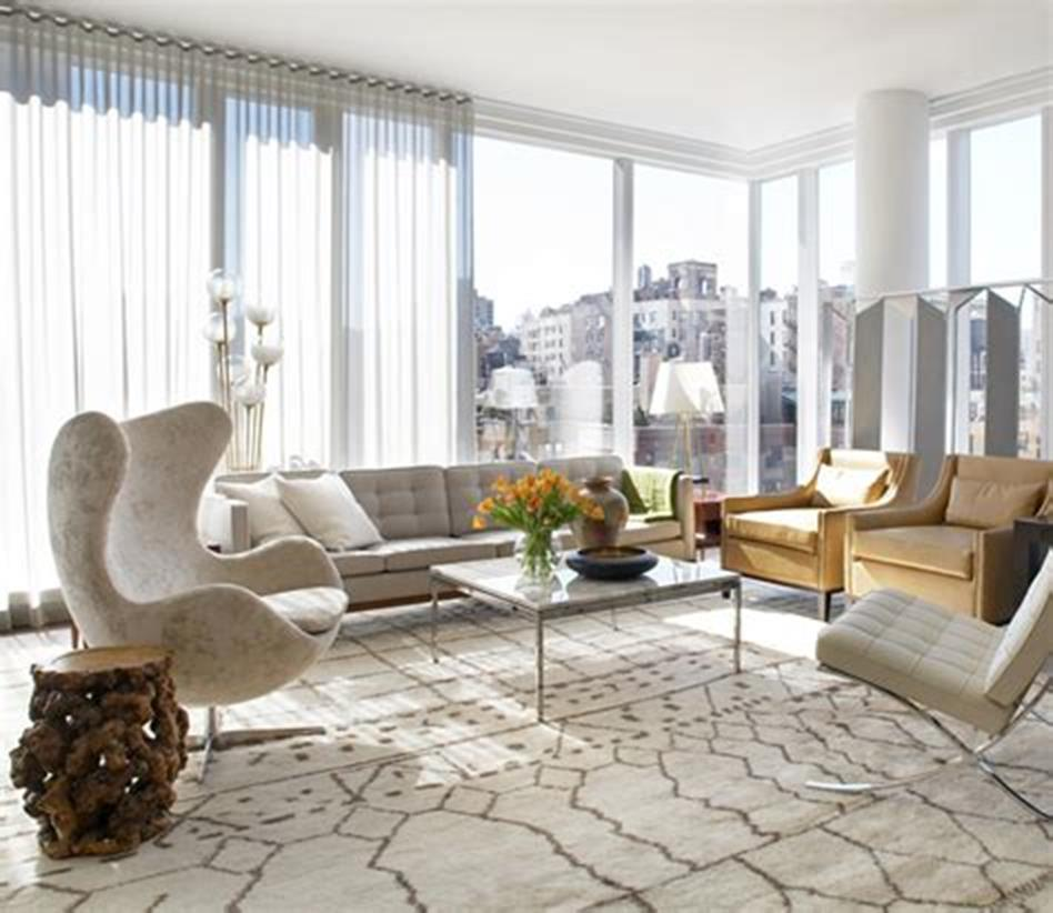47 Great Mid Century Modern Living room Design and Decorating Ideas 34
