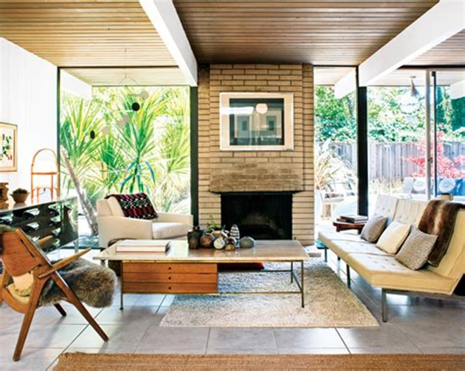 47 Great Mid Century Modern Living room Design and Decorating Ideas 42