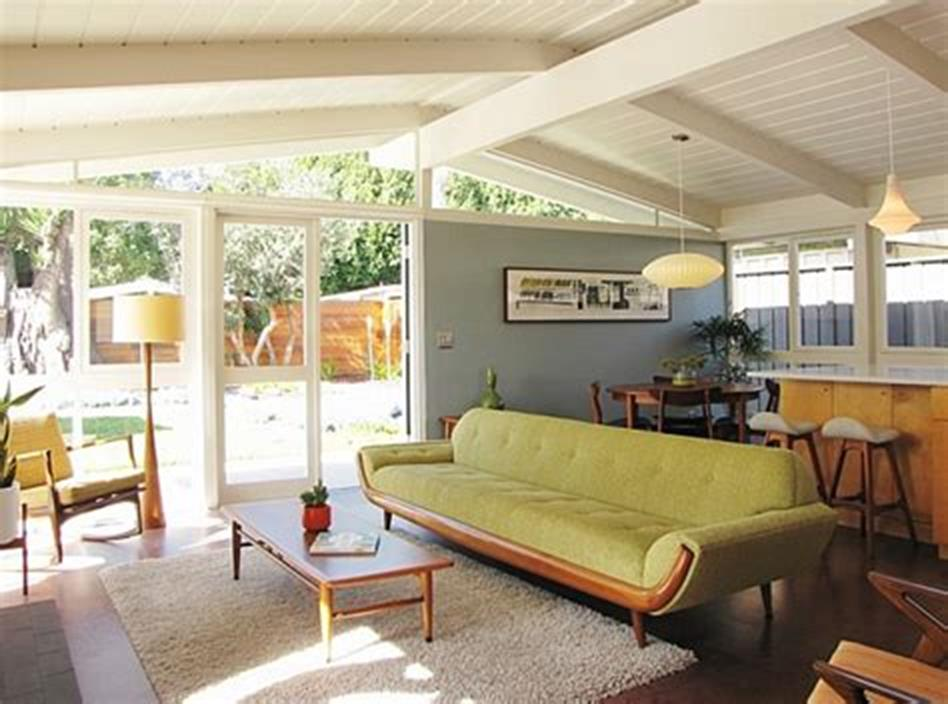 47 Great Mid Century Modern Living room Design and Decorating Ideas 61