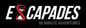 Escapades_white on black