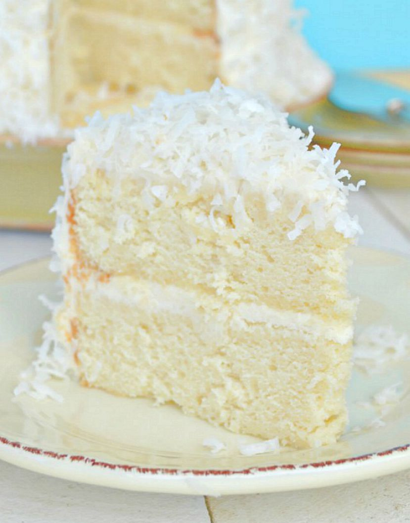 Coconut Cake With Coconut Cream Cheese Frosting Gonna