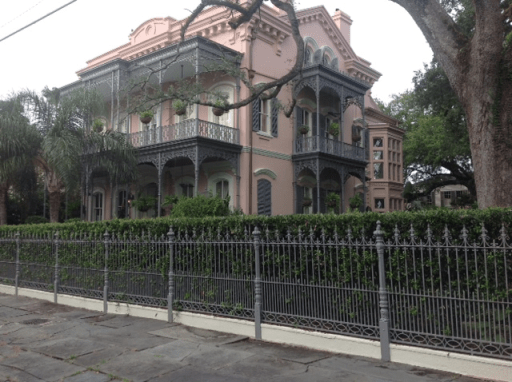 new orleans history, new orleans mansion
