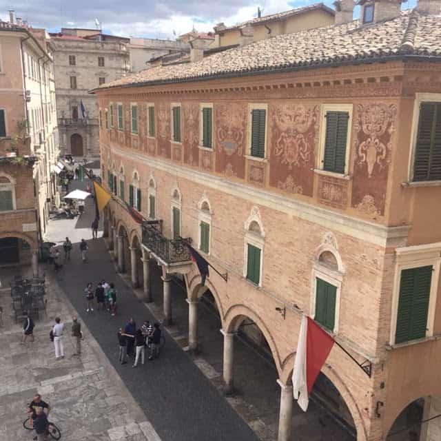 Downtown Ascoli Piceno, Italy. Ann Banks photo.