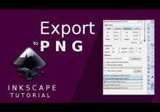 Tutorial Inkscape – Cara Export ke PNG