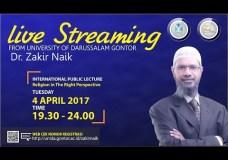 Dr. Zakir Naik – UNIDA Gontor