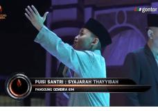 "Menyentuh: Puisi Santri ""Pohon yang Baik"" (Syajarah Tayyibah) – Panggung Gembira 62020."